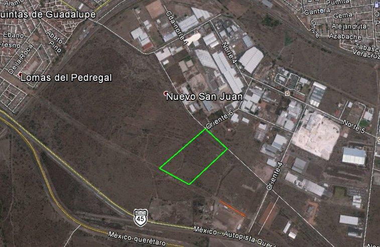 SJR-2586 Terreno en venta, san Juan del Río, Zona Industrial