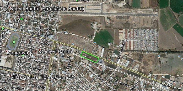 Granjas Banthi, terreno en venta, Av. Universidad, San Juan del Río SJR-2735