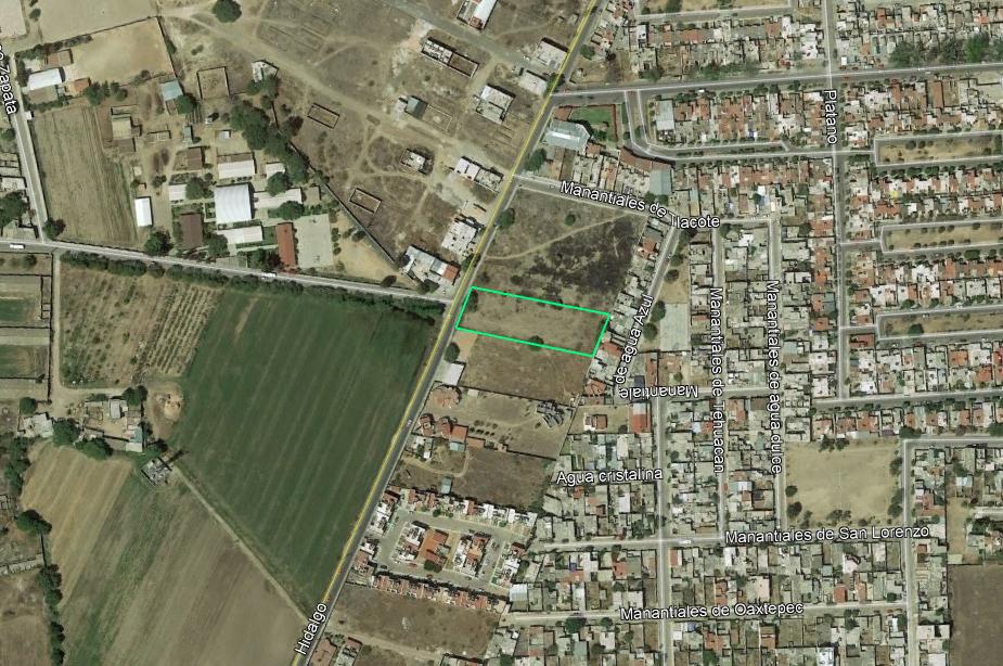 Terreno comercial sobre calle principal, San Juan del Río, SJR-2874