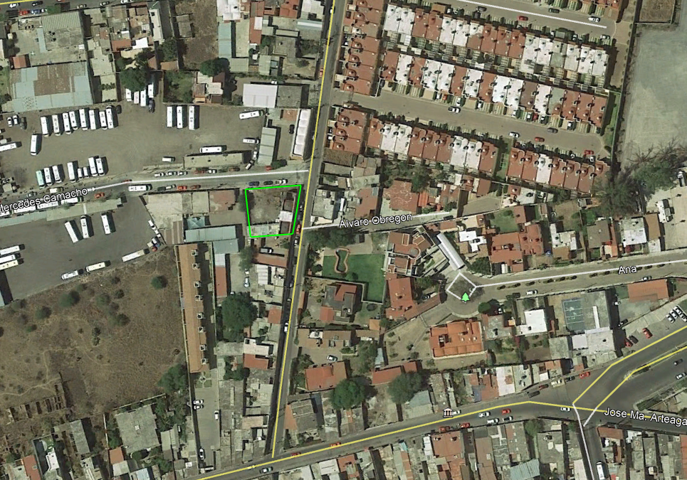 Colonia centro, terreno en renta, san Juan del Río, SJR-2884