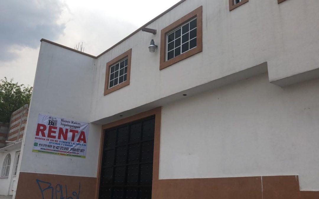 Bodega en renta, Las Aguilas, San Juan del Río, SJR-2876