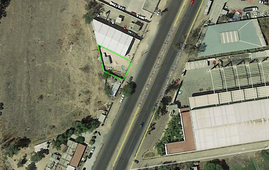 Carretera a Tequisquiapan, terreno comercial en renta, San Juan del Río, SJR-2986